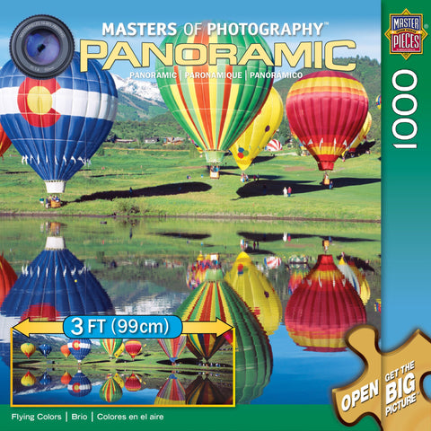 Flying Colors - 1000 Piece Jigsaw Puzzle