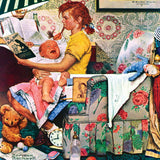 The Saturday Evening Post - The Babysitter - 1000 Piece Jigsaw Puzzle