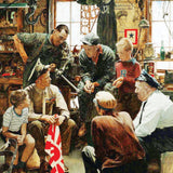 The Saturday Evening Post - Homecoming Marine - 1000 Piece Jigsaw Puzzle