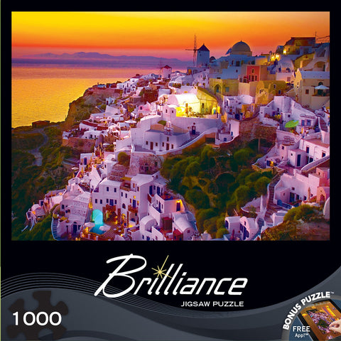 Brilliance - Evening View - 1000 Piece Jigsaw Puzzle - Games2Puzzles