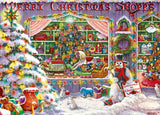 Merry Christmas Shoppe - 1000 Piece Jigsaw Puzzle