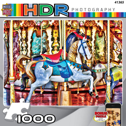 Prancing Ponies - 1000 Piece Jigsaw Puzzle