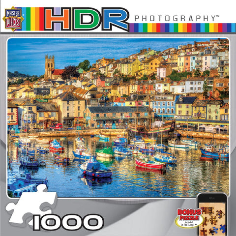 Enchanted Harbor - 1000 Piece Jigsaw Puzzle