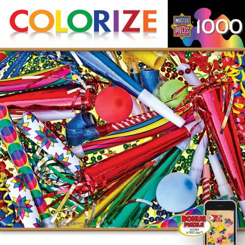 Colorize - Toot Your Horn - 1000 Piece Jigsaw Puzzle