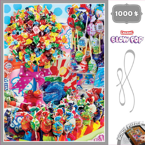 Charms Blow Pop - 1000 Piece Jigsaw Puzzle - Games2Puzzles