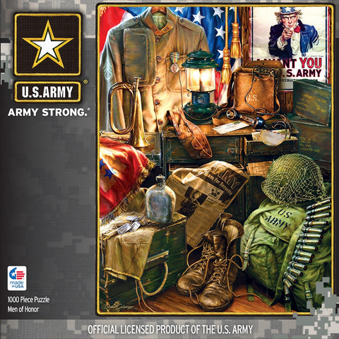 US Army - Men of Honor - 1000 Piece Jigsaw Puzzle