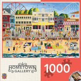 Hometown Gallery - On the Boardwalk - 1000 Piece Jigsaw Puzzle