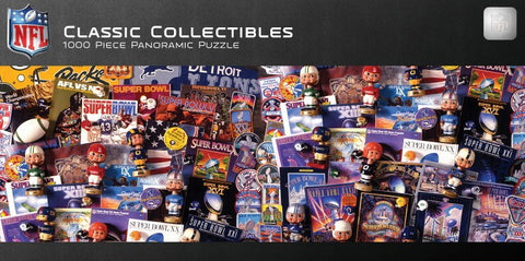 NFL Classic Collectibles - 1000 Piece Jigsaw Puzzle