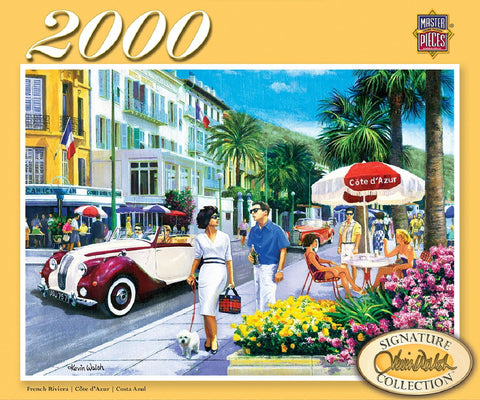 French Riviera - 2000 Piece Jigsaw Puzzle