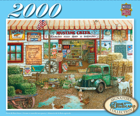 Farm & Fleet Store - 2000 Piece Jigsaw Puzzle
