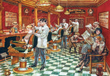 Barber Shop - 2000 Piece Jigsaw Puzzle - Games2Puzzles