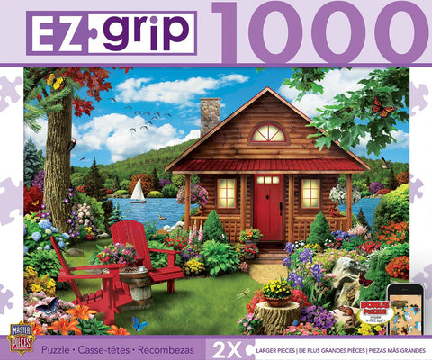 A Perfect Summer - 1000 Piece EZ Grip Jigsaw Puzzle - Games2Puzzles