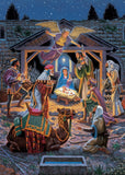 Holiday Glitter - Holy Night - 500 Piece Jigsaw Puzzle