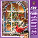 Holiday Glitter - Home for the Holidays - 500 Piece Jigsaw Puzzle
