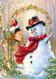 Holiday Glitter - Letters to Frosty - 500 Piece Jigsaw Puzzle