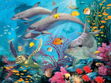 Glow in the Dark - Hidden Images - Sea Serenity - 500 Piece Jigsaw Puzzle