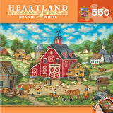 Heartland - New Friends - 550 Piece Jigsaw Puzzle