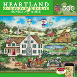 Heartland - Packing a Picnic - 500 Piece Jigsaw Puzzle