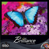 Brilliance - Iridescence - 550 Piece Jigsaw Puzzle - Games2Puzzles