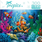 Tropics - Here Come the Clowns - 300 Piece EZ Grip Jigsaw Puzzle