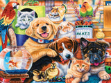 Playful Paws - Home Wanted - 300 Piece EZ Grip Jigsaw Puzzle