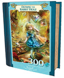 Down the Rabbit Hole - 300 Piece EZ Grip Jigsaw Puzzle