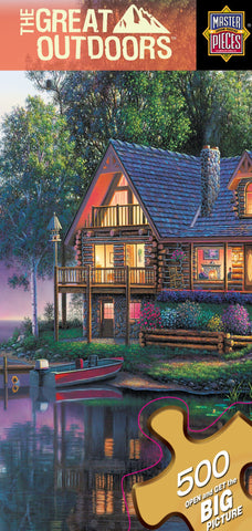 The Great Outdoors - Cabin Fever - 500 Piece Jigsaw Puzzle