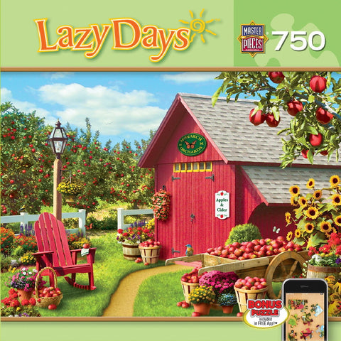 Lazy Days - Monarch Orchard - 750 Piece Jigsaw Puzzle