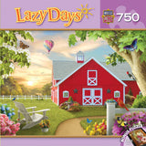 Lazy Days - Morning Song - 750 Piece Jigsaw Puzzle