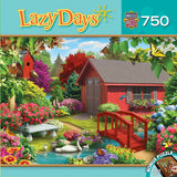 Lazy Days - Over the Bridge - 750 Piece Jigsaw Puzzle