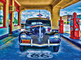 Wheels - Kicks on Route 66 - 750 Piece Jigsaw Puzzle