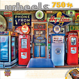 Wheels - Classic Gas - 750 Piece Jigsaw Puzzle