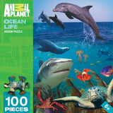 Animal Planet - Ocean Life - 100 Piece Jigsaw Puzzle - Games2Puzzles