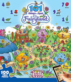 101 Things to Spot in Fairyland- 100 Piece Jigsaw Puzzle - Games2Puzzles