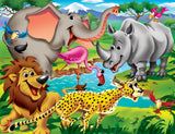 Googly Eyes - Safari - 100 Piece Jigsaw Puzzle
