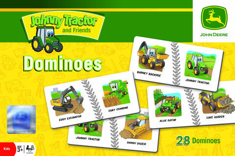 John Deere - Johnny Tractor and Friends - Dominoes Game