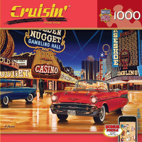 Cruisin' - Gamblin Man - 1000 Piece Jigsaw Puzzle