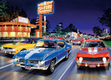 Cruisin' - Woodward Avenue - 1000 Piece Jigsaw Puzzle