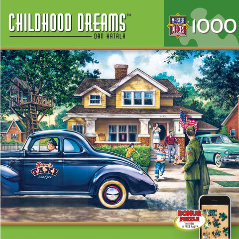 Childhood Dreams - Homecoming - 1000 Piece Jigsaw Puzzle