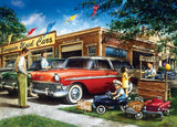 Childhood Dreams - Bargain Used Cars - 1000 Piece Jigsaw Puzzle