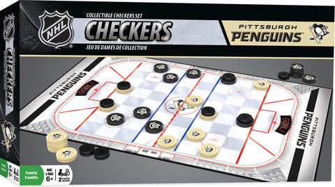 NHL Checkers Game - Pittsburgh Penguins
