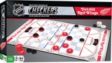 NHL Checkers Game - Detroit Red Wings