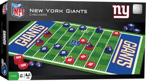 NFL Checkers Game - New York Giants