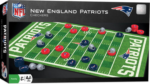NFL Checkers Game - New England Patriots