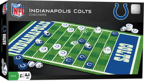 NFL Checkers Game - Indianapolis Colts