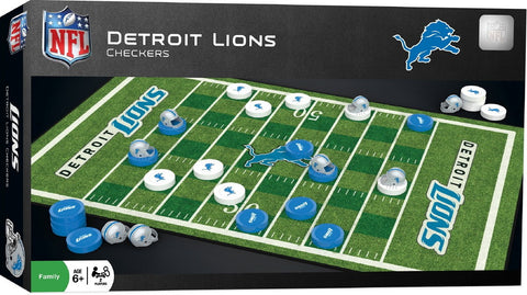 NFL Checkers Game - Detroit Lions