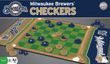 MLB Checkers Game - Milwaukee Brewers