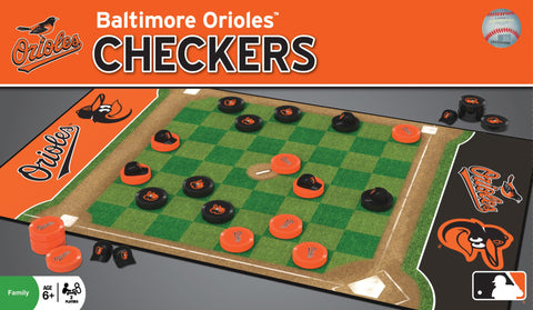 MLB Checkers Game - Baltimore Orioles