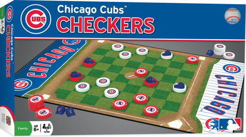 MLB Checkers Game - Chicago Cubs