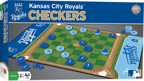 MLB Checkers Game - Kansas City Royals